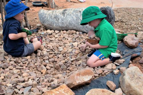 Port-Augusta-West-Childhood-Services-Centre-Creek-Bed-Rocks-Play-Nature-Based-Kindy