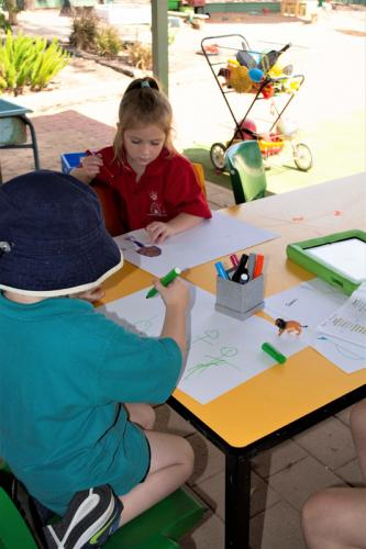Port-Augusta-West-Childhood-Services-Centre-Drawing-Fine-Motor-Expressing-Creativity