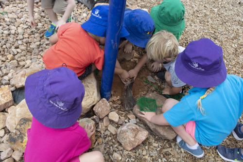 Port-Augusta-West-Childhood-Services-Centre-Natural-Materials-Play-Collaborate-Preschool