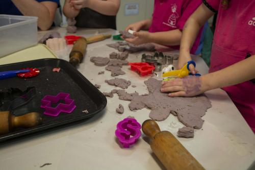 Port-Augusta-West-Childhood-Services-Centre-Playdough-Sensory-Experiences-Fine-Motor