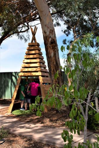 Port-Augusta-West-Childhood-Services-Centre-TeePee-Play-Nature-Based-Preschool